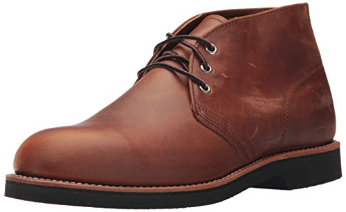 Red Wing Mens Foreman Chukka 9219 Copper Leather Boots 41 EU