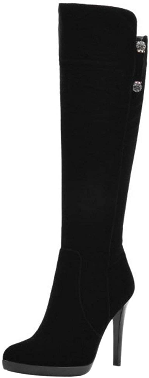 Unm Women's Boots with Zipper