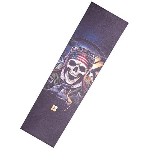 Personalidad de bricolaje 84cm * 23cm Patín Monopatín de lija Grip cinta...