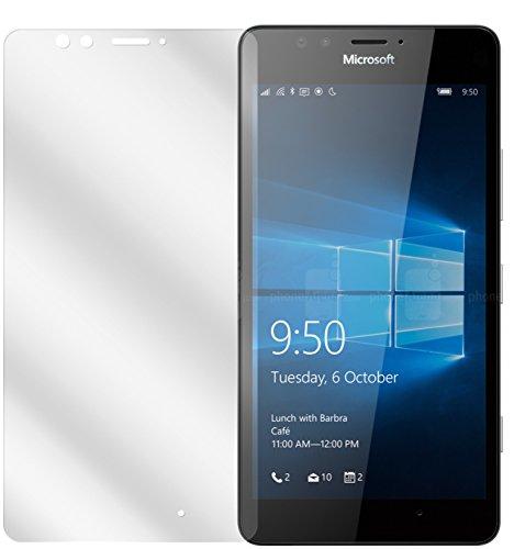 dipos I 2X Schutzfolie klar kompatibel mit Microsoft Lumia 950 Folie Bildschirmschutzfolie