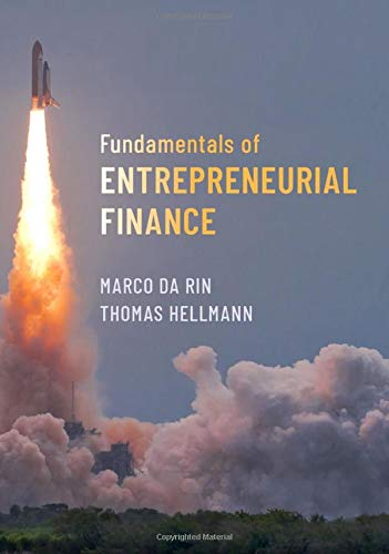 Image OfFundamentals Of Entrepreneurial Finance