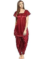 Fashigo Womens Patiala Top and Pyjama (Free Size)