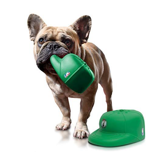 NAP CAP NBA Boston Celtics Team PlayCap Dog Chew & Squeak Toy, Green (One Size)
