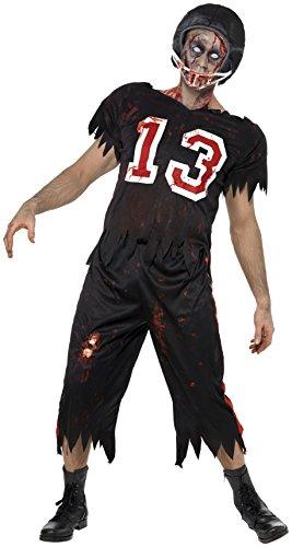 Smiffys Costume footballer américain horreur High School, avec haut, pantalon et casque