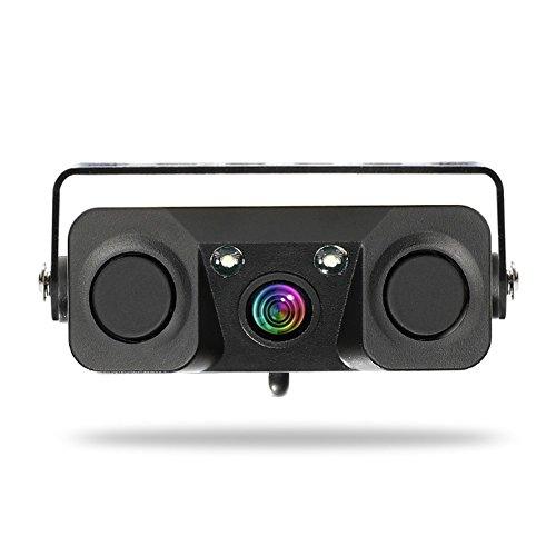 Auto Rückfahrkamera Video Backup Rückfahrkamera Sound Alarmanzeige System 3-in-1 Rückansicht Monitor Einparkhilfe