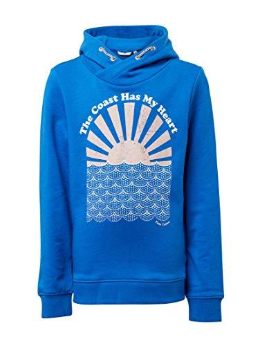 TOM TAILOR Mädchen Strick & Sweatshirts Sweatshirt mit Brust-Print Victoria Blue|Blue,176