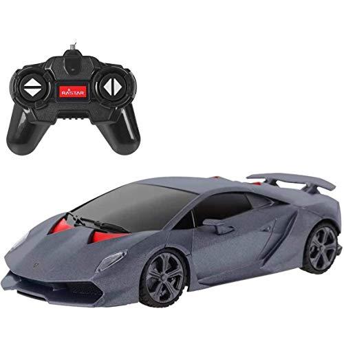 Lamborghini Sesto Elemento RC Car 1:24 Scale Remote Control Model Vehicle, 2.4Ghz - Grey