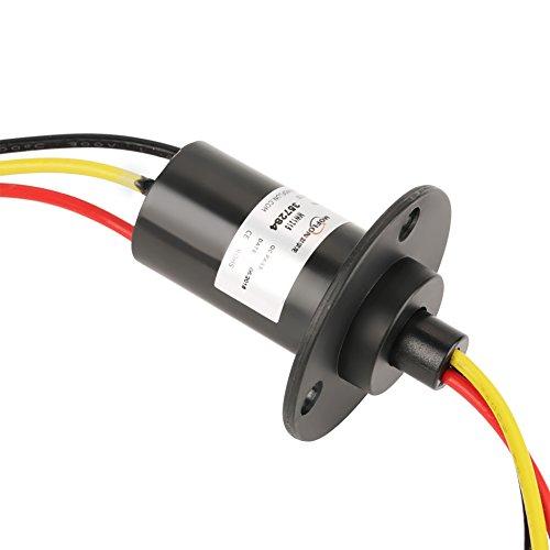 3-Draht Schleifring, 250 U/min 15A Mini-Schleifring 3 Drähte 0-600 V für Windkraftanlage