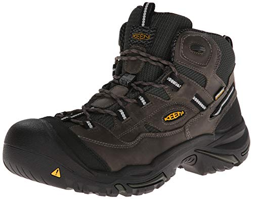Keen Utility - Men's Braddock Mid Waterproof (Steel Toe) Work Boots