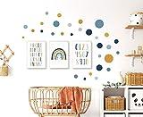 Pandawal Kinderzimmer Deko Bilder 3er Poster Set und 40