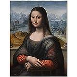 Divertida Mona Lisa Mr Bean retrato figura lienzo pintura pared arte carteles impresiones...
