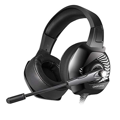 ONIKUMA K6 Anti-Noise Super Bass koptelefoon game headset met microfoon