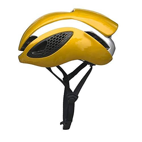 Yuan Ou Casco Bici Aero Road Bike Stile Casco Uomo Donna Casco da Bicicletta Ciclismo caschi Ultraleggeri Oro