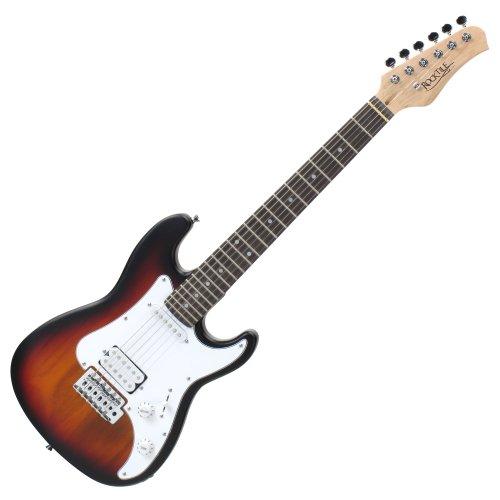 Rocktile Sphere - Guitarra eléctrica infantil, 3/4, sunburst