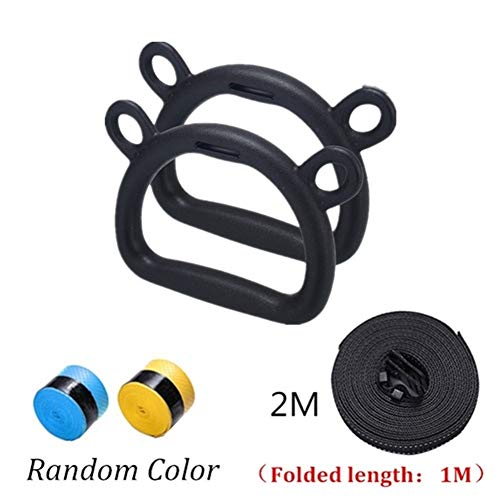 Buy Bargain Lcb Gymnastics Ring Kids Gymnastics Rings with Heavy Duty Adjustable Straps Hand Tapes f...