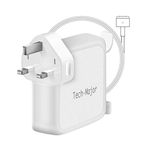 Compatible With MacBook Air Charger,45W 2 Magnetic T-Tip Power Adaper Charger, Replacement With MacBook Air 11-inch 13-inch - Mid 2012, 2013, 2014, 2015, 2017 2018 Models A1465 A1466
