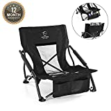 Best Festival Chairs - Hitorhike Low Sling Beach Camping Concert Folding Chair Review