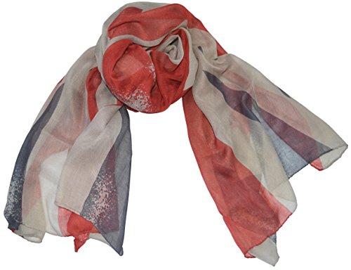 thb Richter UK vlag sjaal stola Engeland vlag vlag Britse sjaal doek halsdoek handdoeken Union Jack