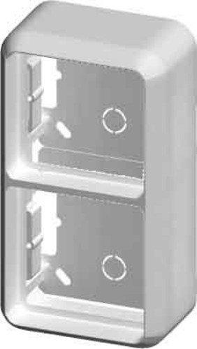 Elso 2342131 Aufputzgehäuse 2-Fach für KPL Fab, anthrazitgrau