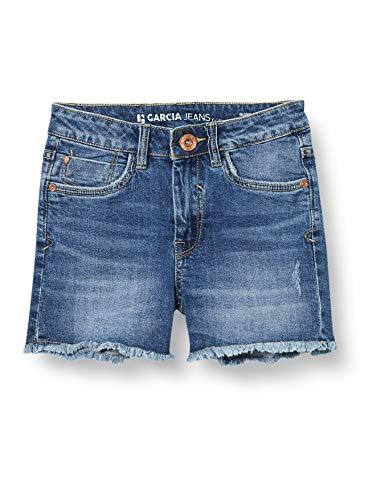 Garcia Kids Mädchen Rianna Shorts, Blau (Medium Used 5171), (Herstellergröße: 152)