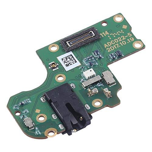 ZHANGJIALI Teléfonos Móviles Piezas de Repuesto Módulo de reemplazo de Reparación Auriculares Jack Junta con micrófono for OPPO A73