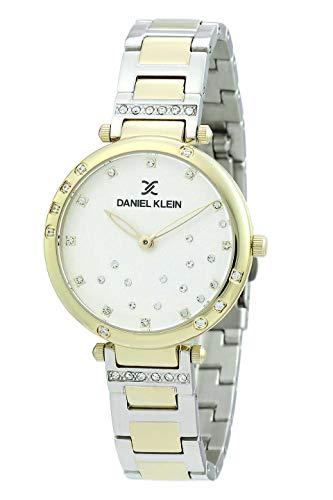 Daniel Klein Reloj de pulsera para mujer (DK12364) – acero inoxidable – 33 mm analógico relojes...