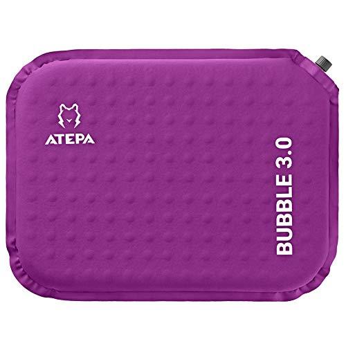 ATEPA クッション座布団 低反発 携帯座布団 エアピロー 厚さ3cm/5cm コンパクトマット インフレータブル アウトドア キャンプ 観戦 花見 出張 自宅 オフィスに最適 携帯まくら