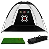 Indoor Golf Hitting Nets Review and Comparison