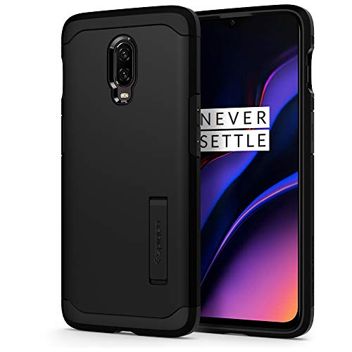 Spigen Tough Armor Designed for OnePlus 6T Case (2018) - Black