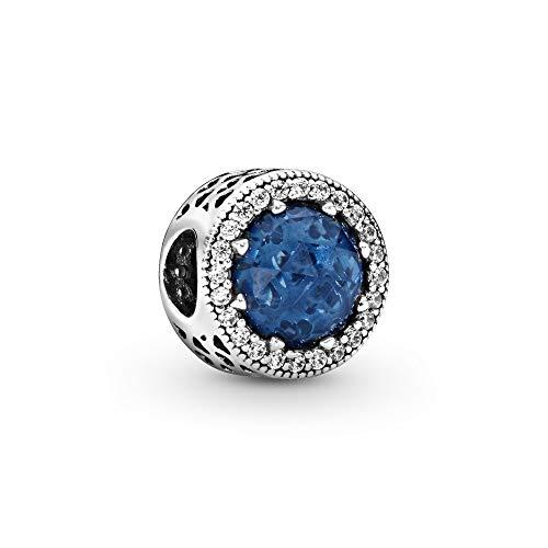 Pandora Charm Mitternachtsblauer Strahlenkranz der Herzen