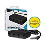 Hyperkin 4-Port Controller Adapter for GameCube Compatible with Nintendo Switch/ Wii U/ PC