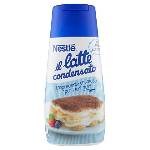 Nestlé il Latte Condensato Latte Intero Concentrato Zuccherato Ideale per Ricette Dolci Tubo - 6 pezzi da 450 g [2700 g]