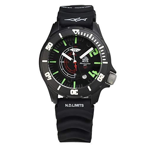トーチマイスター1937腕時計ドイツ海軍ダイバーズ20ATMGMT3DダイヤルT0236並行輸入品