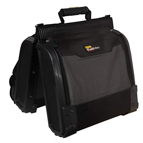 Stanley FatMax tragbarer Werkzeugorganizer / Werkzeugkoffer (44x39x25cm, Satteltaschen-Design für optimale Übersichtlichkeit, ergonomisches Design, gepolsteter Tragegurt) 1-94-231