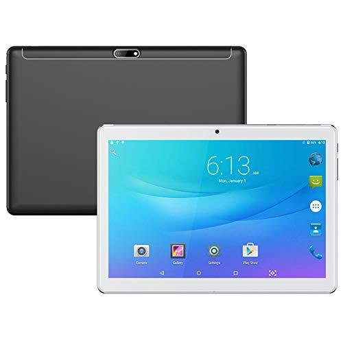 tablet PC de 10.1 Pulgadas Pantalla HD IPS Cámaras HD Frontal y Trasera PC Android Rendimiento rápido Batería de Gran Capacidad