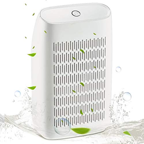 SIX by SIX Portable Mini Dehumidifier,700ml Water Tank(215 sq ft) Super Quiet Electric Small Dehumidifiers for Bedroom RV Baby Room