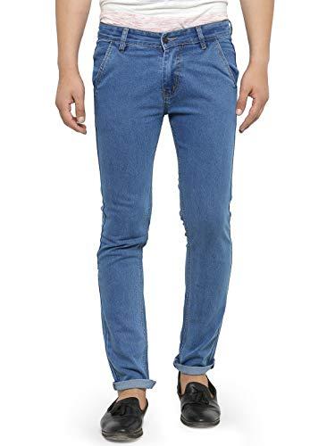 Ben Martin Men's Regular Fit Jeans (BMW7-BMW-JJ-9-2(L)_34-01_Blue_34)