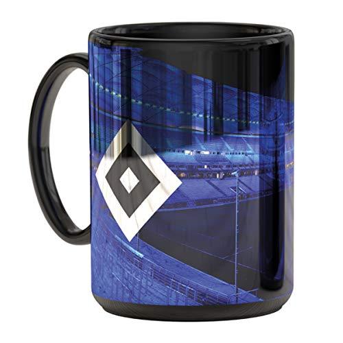 Hamburger SV HSV Tasse, Becher Metallic Stadion blau, 29972