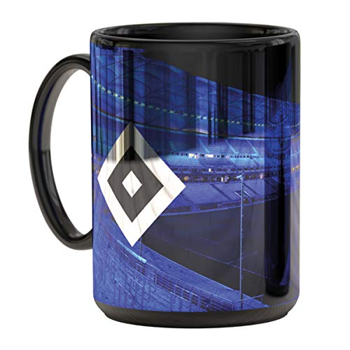 Hamburger SV HSV Tasse, Becher Metallic Stadion blau, 29972