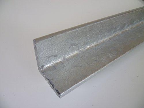 B&T Metall Stahl Winkel VERZINKT 50x50x5 mm in Längen à ca. 2 mtr. (2000mm +/- 5 mm) S235 (1.0038 ST37)
