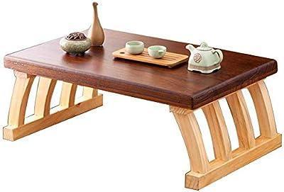 Mesa de centro Mesa de Tatami, Mesa de té Japonesa Mesa de Madera ...