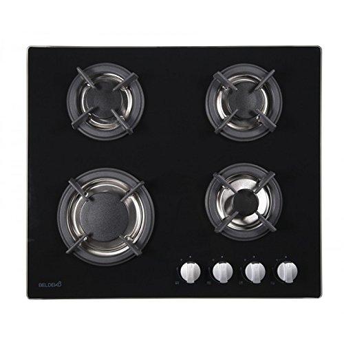 Table de cuisson gaz 4 foyers - BELDEKO BTG4Z-F01VNO