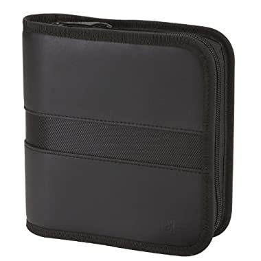 Case Logic EKW-28 28 Capacity Koskin CD Wallet (Black)