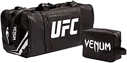 Officially Licensed UFC VENUM Unisex Authentic Fight Week Gear Bag Black/White One Size