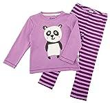 Sigikid Mädchen Zweiteiliger Schlafanzug Pyjama, Violett (Violett (Dusty Lavender 950) 950), 86