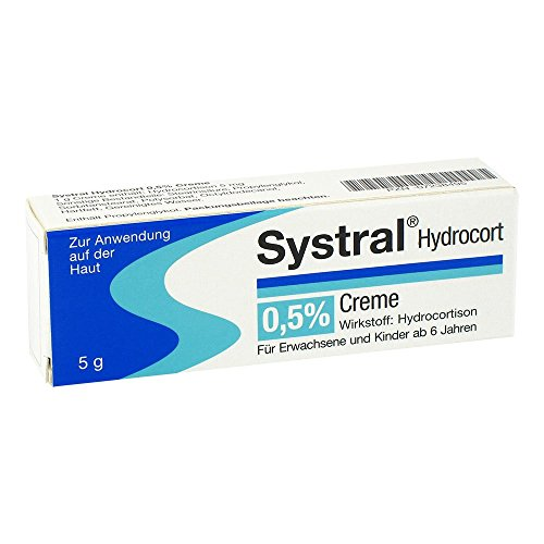 Systral Hydrocort 0,5{c8d0831d44804569de6bafe4eda2523026b29851db634434a09318ff434afee9} Creme, 5 g Creme