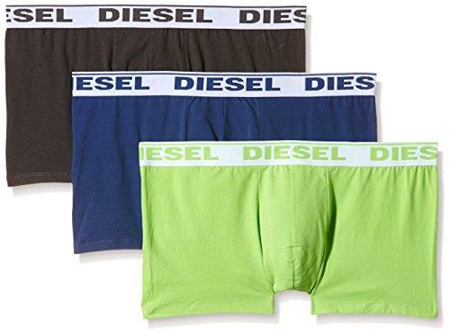 DIESEL Herren UMBX-SHAWN Boxershorts, mehrfarbig (MULTICOLOR 12), Gr. XL, 3er Pack