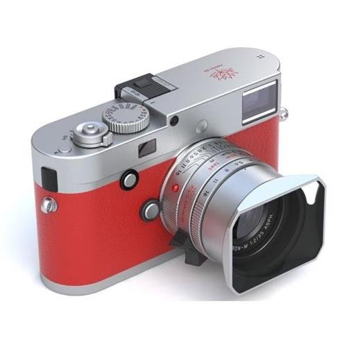 Leica M-P (Typ 240) Full-Frame Digital Rangefinder Camera, Silver Chrome Finish