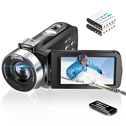 Video Camera Camcorder Digital Vlogging Camera Recorder...