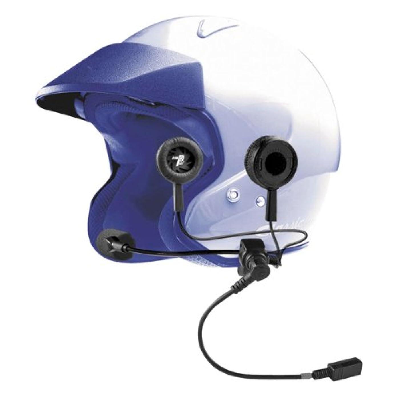ジェーンオースティンスポーツリードJ & M Elite 629シリーズclamp-onユニバーサルヘルメットヘッドセット